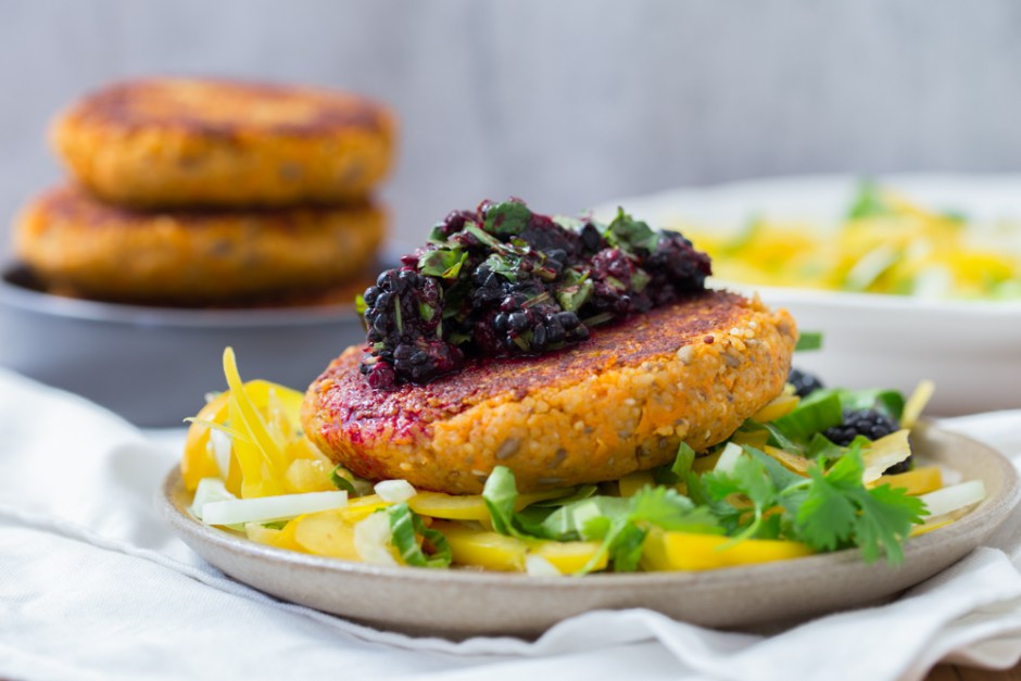 sweet-potato-millet-patties-and-blackberry-salsa-6