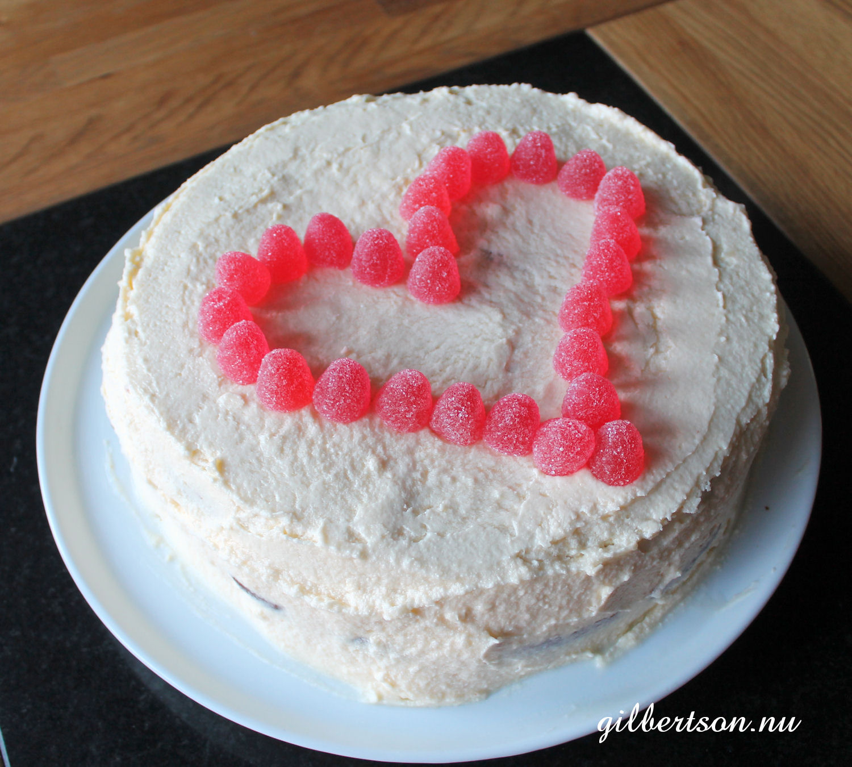 mjölkfri tårta recept