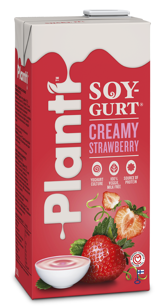 Planti Soygurt Creamy Strawberry 0.75L RGB