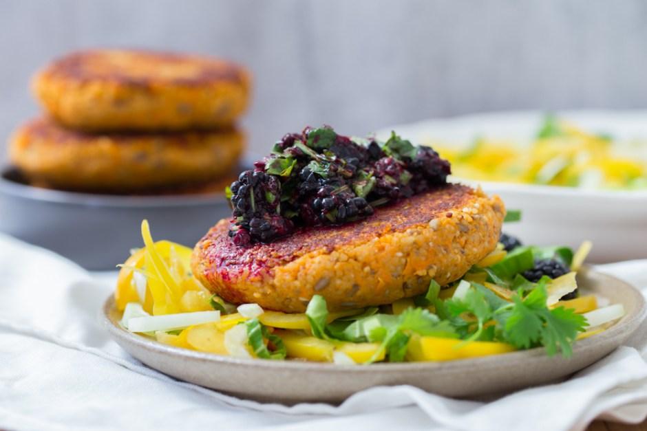 sweet-potato-millet-patties-and-blackberry-salsa-6